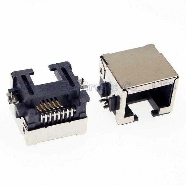 5pcs RJ45 network Outlet LAN Interface RJ45 Jack Internet ...