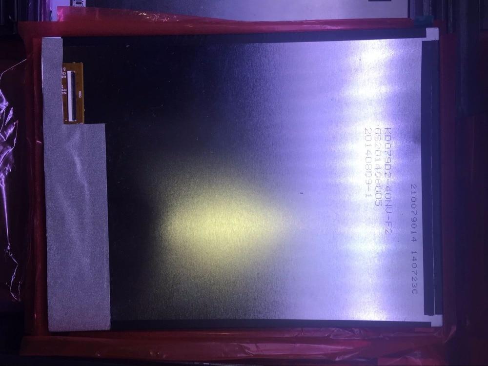 New original 7.9 -inch LCD screen KD079D2-40NV-F2 free shipping free shipping original new 9 inch lcd screen ltl090cl01 w02 internal screen
