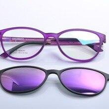 DEDING очки с магнитным зажимом, солнцезащитные очки для близорукости, очки для вождения, поляризованные солнцезащитные очки, солнцезащитные очки с зажимом DD1404