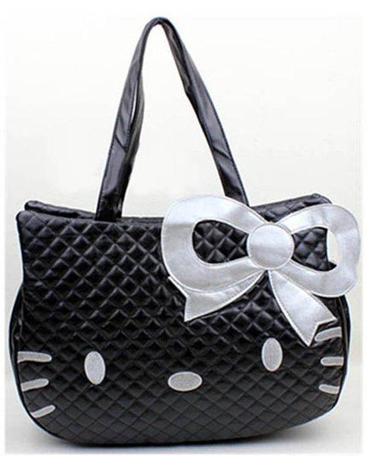 on sale hello kitty handbags bowknot Designer fashion messenger bags Children Christmas gift for women bag BKT218