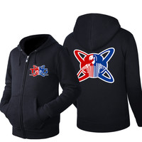 New Spring Antumn Men S Hoodies Game H1Z1 Printed TWIN Coat Fashion Casual Zipper Hooded Jackets