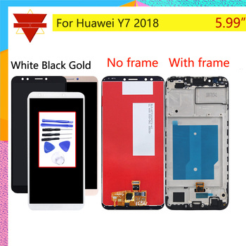 Оригинальный Для Huawei Y7 2018 ЖК-LDN-L01 LDN-L21 ЖК-дисплей сенсорный экран в сборе с рамкой Y7 Prime 2018 ЖК-дигитайзер