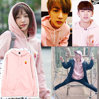 Kpop Home BTS Bangtan Boys JIN Same Harajuku Style French Fries Sweatershirt Man And Women S