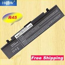 A HSW 6 células de bateria para Samsung P210 P460 P50 P560 P60 Q210 R40 R410 R45 R460 R510 R560 R60 R610 r65 R70 R700 R710 X360 X60
