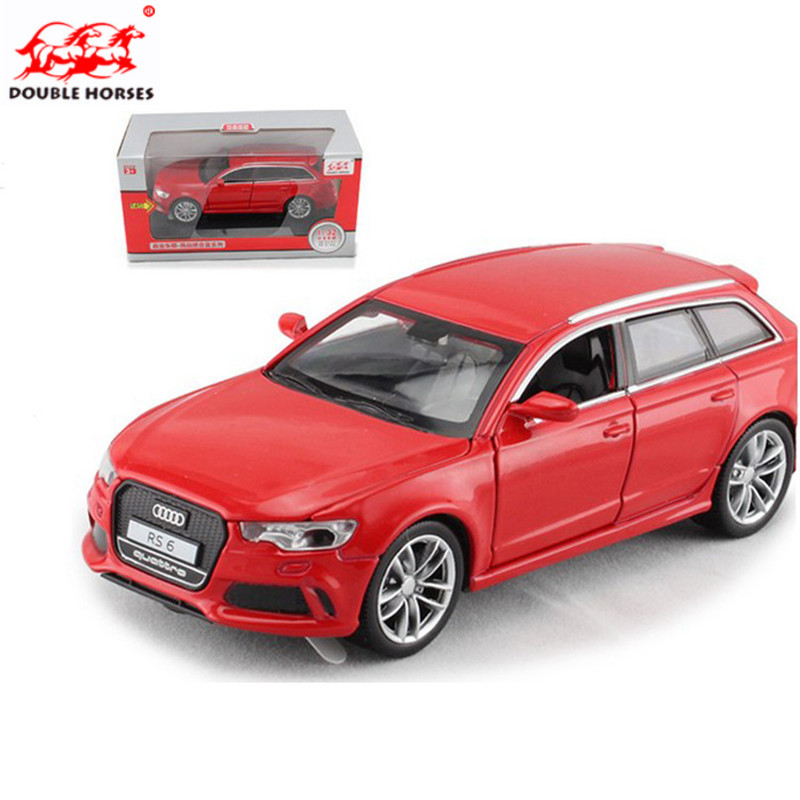 Hot 1:32 metal Fast & Furious RS6 Alloy Diecast Car Model Pull Back Toy Car Metal Toy Miniatures Car Kid Toys for Children Gift