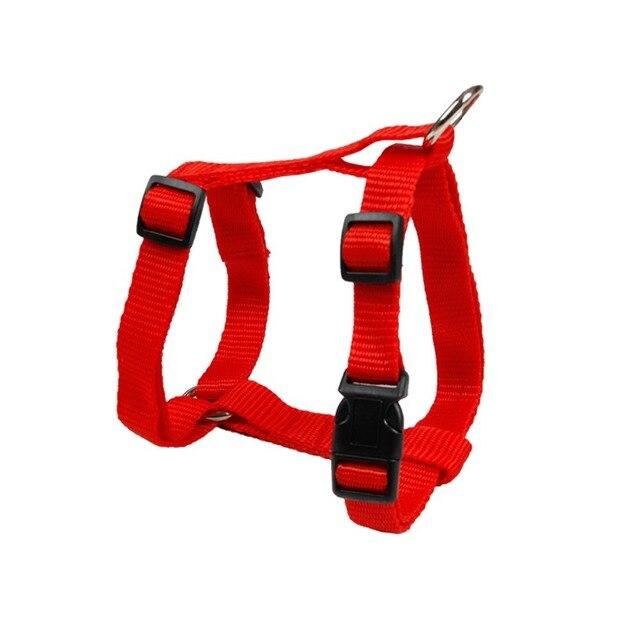 Pet Harness Nylon Adjustable Safety Control Restraint Cat Puppy Dog Harness Soft Walk Vest Large Dog 3 Colors Animals Harness