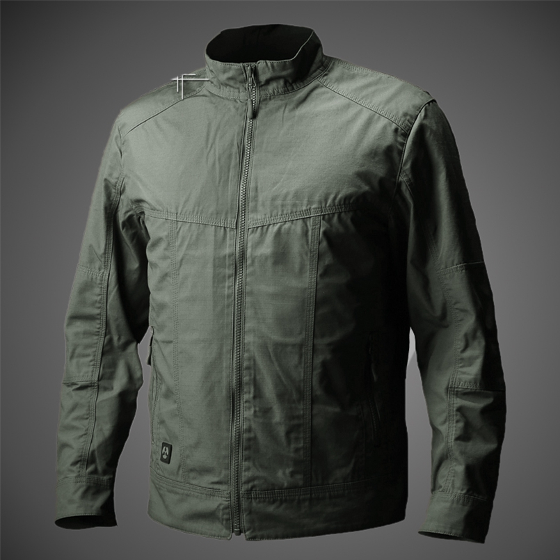 Spring Autumn Windproof Jackets Mens Military Style Field Tactical Outwear Water
