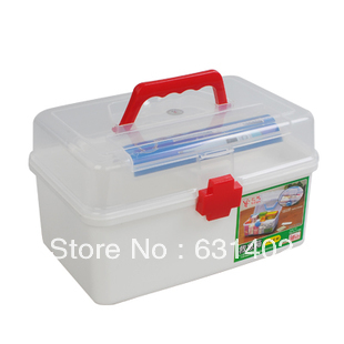 Household pyxides drug storage box storage box medicine chest Safety PP  material Free Shipping. Material Storage Bins Promotion Shop for Promotional Material