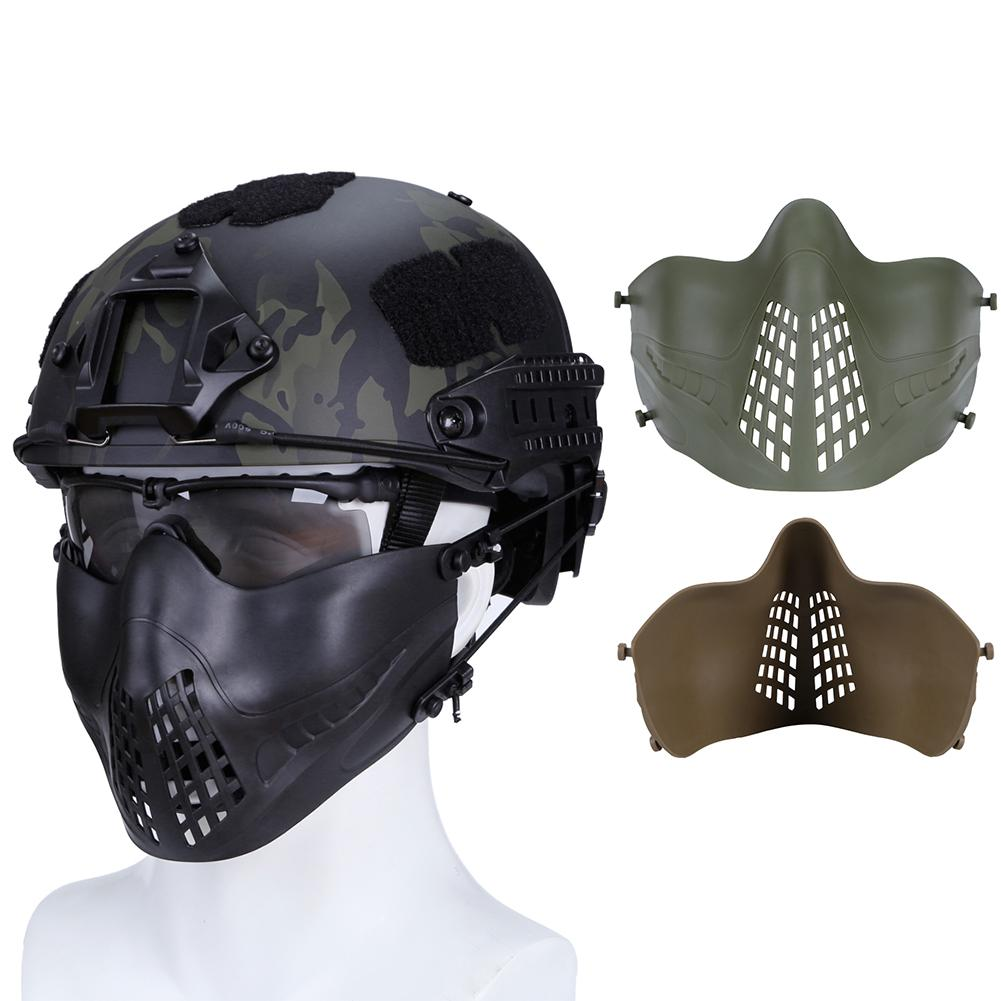 V6 Steel Net Fencing Mask Full Face Protective Tactical Mask For Airsoft Paintball Games Military Use Ideal Gift For All Occasions Back To Search Resultshome