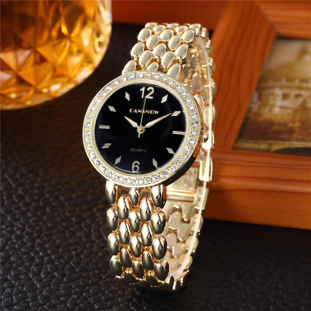 reloj mujer Luxury Brand Women Watches Fashion Ladies Quartz Watch Women 18K Gold Wristwatch Casual Dress Clock relogio feminino weiqin women watch brand luxury ceramic band rhinestone fashion watches ladies rose gold wrist watch quartz watch reloj mujer