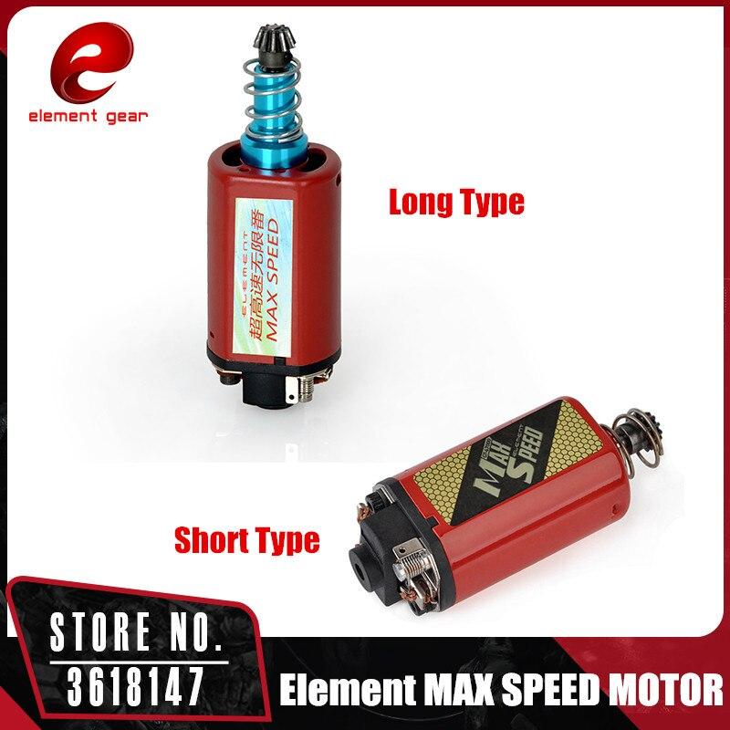 Moteur de vitesse MAX Element pour moteur Airsoft M16/M4/MP5/G3/P90 AEG IN0916/IN0918