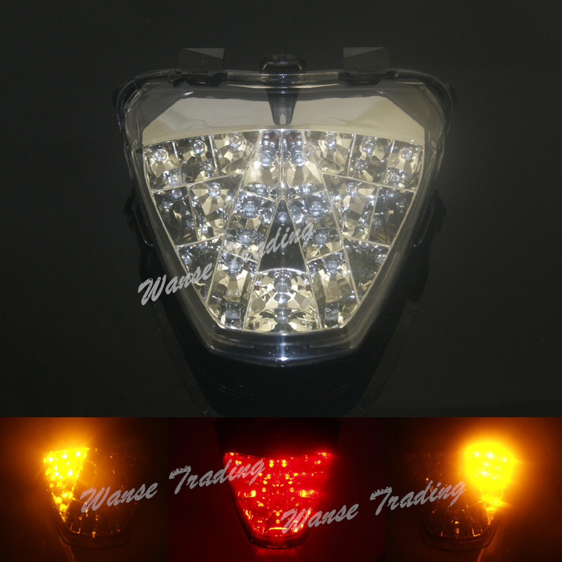 Taillight Tail Brake Turn Signals Integrated Led Light Lamp Clear For 2011 2012 2013 HONDA Fireblade CBR 250R CBR250R ABS Repsol aftermarket free shipping motorcycle parts led tail brake light turn signals for 2008 2012 suzuki hayabusa gsx1300r clear
