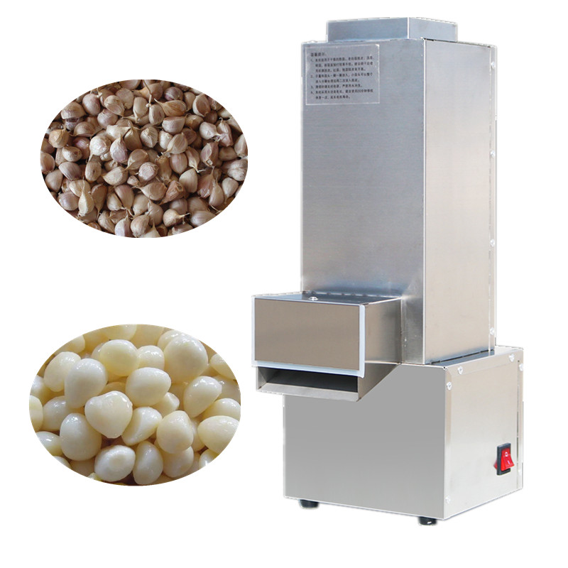 Automatic garlic peeler, commercial garlic peeling machine, garlic skin remover electric garlic peeler automatic garlic peeling machine stainless steel fast garlic peel commercial garlic peeler ysgp 25