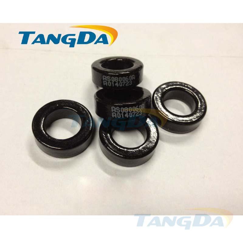 Tangda sendust FeSiAl toroidal cores inductor OD*ID*HT 21*12*7 mm AL: 32nH/N2 Ue: 60 AS080060A CS203060 77848-A7