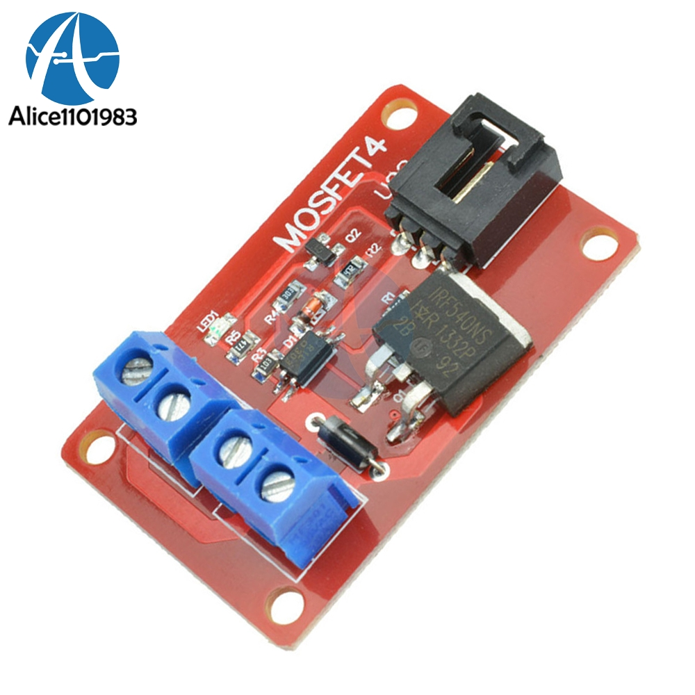 1 Channel Route Mosfet Button Irf540 Switch Sensor Switching Short Circuit Protection Need Help Expansion Module For Arduino Diy Electronic Pcb Control Board In Integrated Circuits From