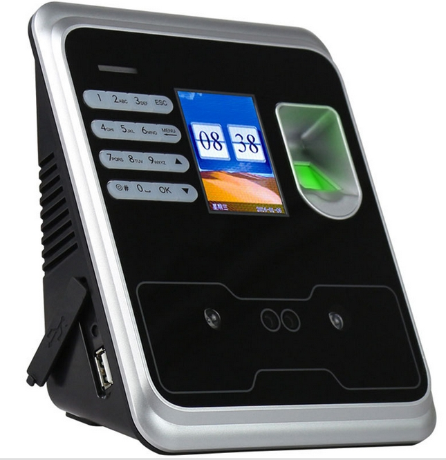 Biometric Time Recording Face Recognition Fingerprint Identification Attendance Machine Sensors