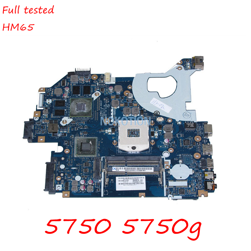 NOKOTION MBRCG02004 MB.RCG02.004 Laptop Motherboard For Acer aspire 5750 5750G P5WE0 LA-6901P HM65 DDR3 GT540M Main board works nokotion la 7221p mbrhj02001 mb rhj02 001 main board for acer aspire 5830 5830t laptop motherboard hm65 ddr3 geforce gt540m gpu