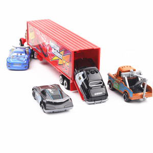 Image 5 - New 7 Piece / Set Disney Pixar Car 3 Lightning McQueen Jackson Storm Material Mack Uncle Truck 1:55 Die Casting Metal Car Model