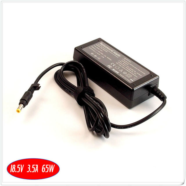 Pour HP Pavilion DV4200 DV4300 DV4400 DV5000 DV9500 batterie dordinateur portable Chargeur/Adaptateur secteur 18.5 V 3.5A 65 W