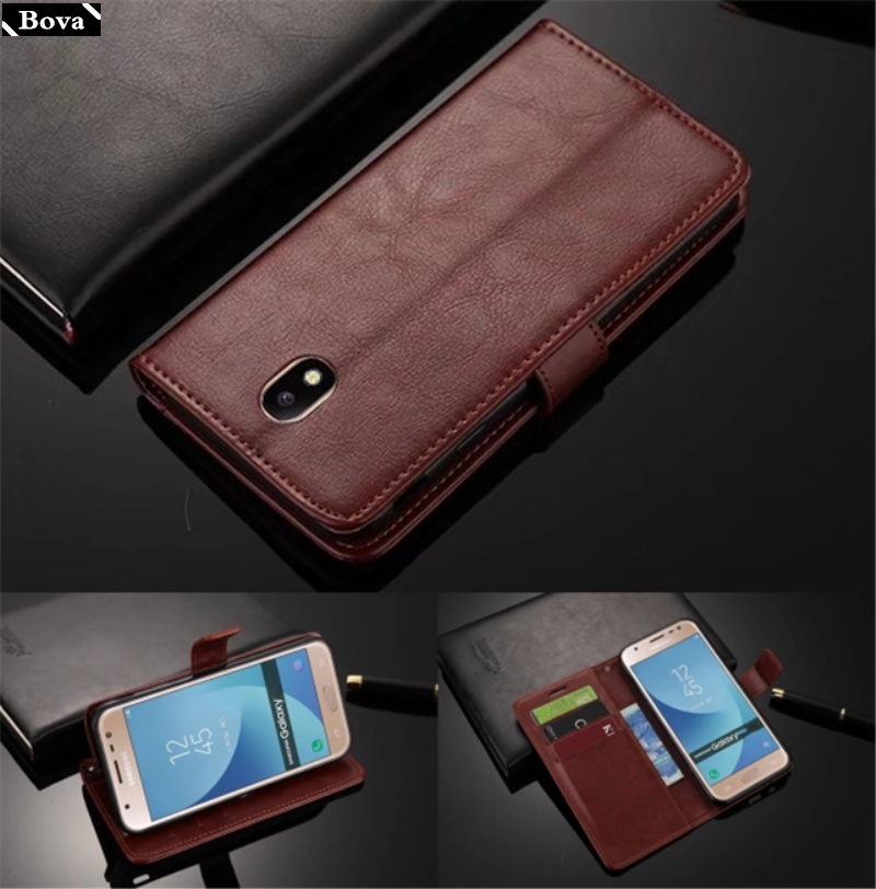 card holder cover case for <font><b>Samsung</b></font> Galaxy J5 2017 <font><b>J530F</b></font>/<font><b>DS</b></font> J530Y/<font><b>DS</b></font> Pu leather case wallet case for <font><b>Samsung</b></font> J5 2017 J530 image