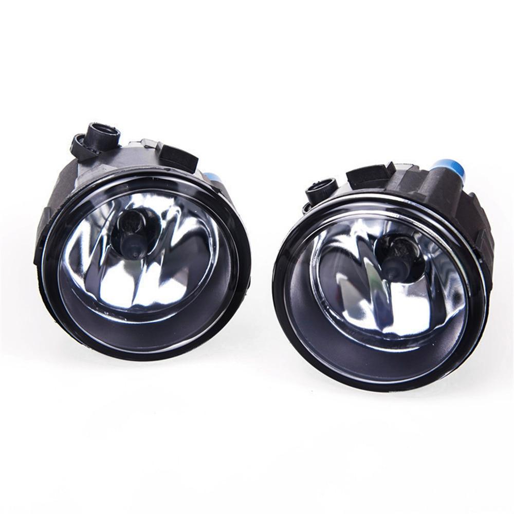 For Nissan X-Trail Vampira Versa Lafesta Presage Rogue 2004-2014 Car Styling Fog Lamp Assembly Halogen Fog Lights 4000LM 55W