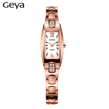 Hot Sale Fashion Women Bracelet Watch Women Wristwatch Casual Luxury Brand Geya Quartz Watch Ladies Clock Relogio Feminino Gift