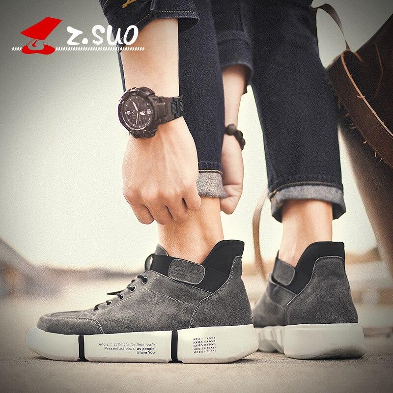 maiale Scarpe nero elastico giovane Suo Primavera suola uomo scarpe Svezia Zs183 grigio Top Marca spessa il per Low uomo di Autunno Banda qualità casual alta Z Yq8Sw