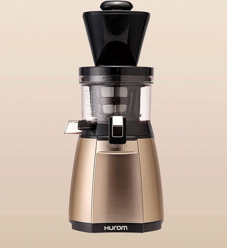 цены 2016 New Arrival 2nd Generation 100% Original HUROM Slow Juicer Fruit Vegetable Citrus Low Speed Juice Extractor /Auger juicer/