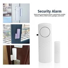 Wireless Door Bell Home Window Doorbell Entry Anti-Theft Standalone Magnetic Sensors System Guardian цены