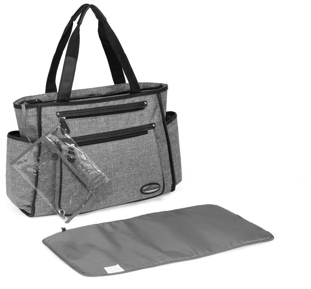 Colorland nouveau sac à langer pour maman rayure sac à couches Durable bébé sacs pour poussette bébé sac à langer Bolso Maternidade fourre-tout