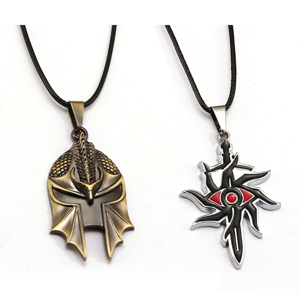PS4 game Dragon Age Inquisition Necklace Rope Chain Necklaces Metal Alloy Pendant Men Women Gift 2017 Jewelry