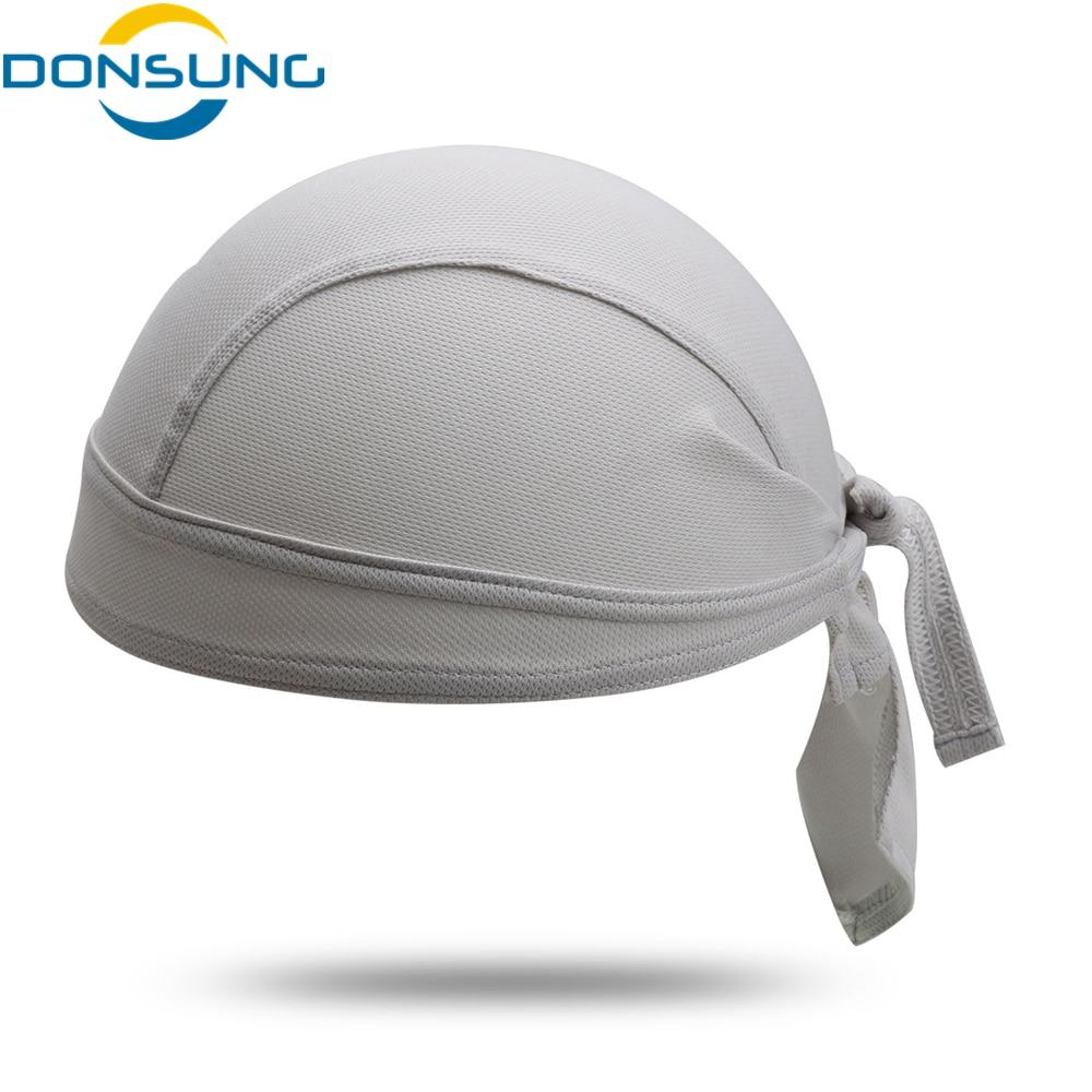 DONSUNG Cycling Cap Balaclava Headscarf Breathable Anti-sweat Cycling Bandana Ciclismo Headband Bicycle Cap Riding Pirate Hat