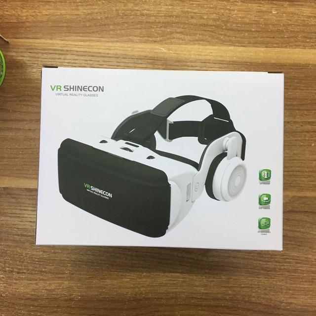 VR Shinecon G06E Casque Helmet 3D Glasses Virtual Reality Lens For Smartphone Smart Phone Google Cardboard Headset Goggles 3 D 5