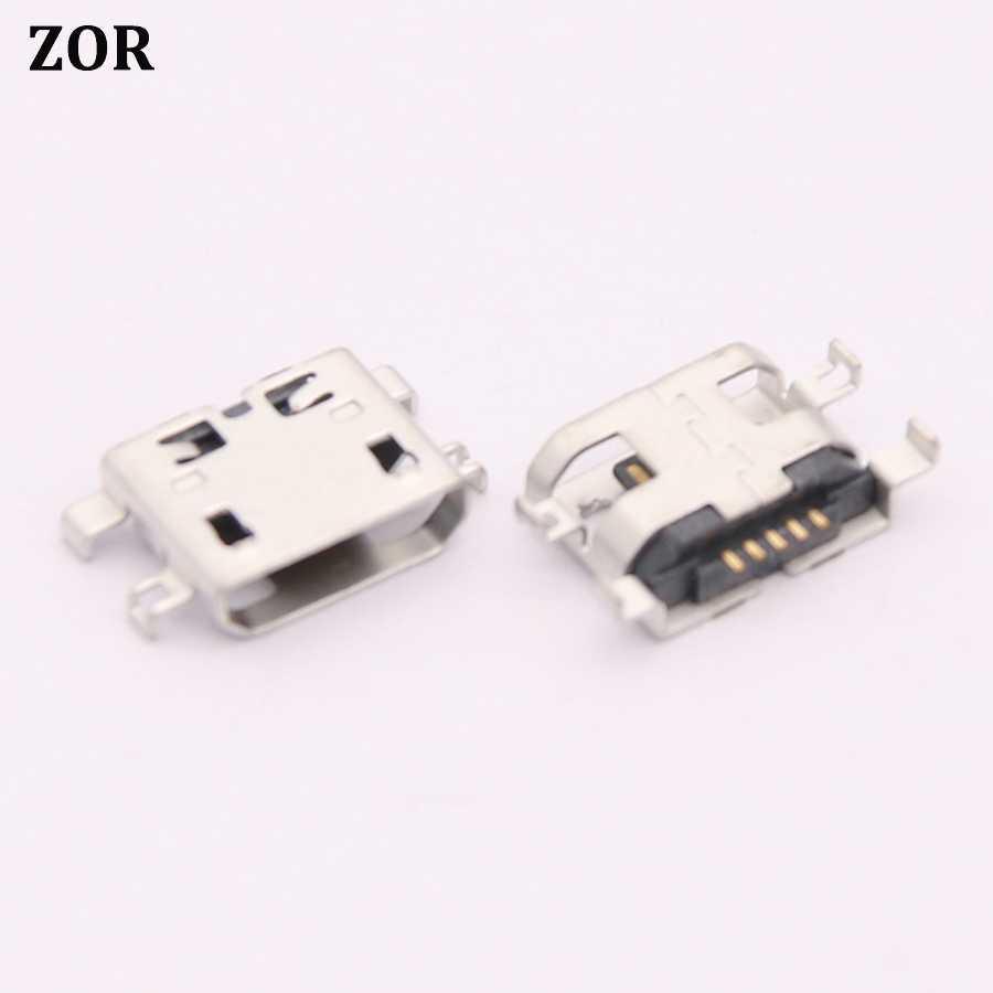 1 pcs MINI MICRO USB พอร์ตชาร์จ Socket ปลั๊กไฟสำหรับ Lenovo โยคะแท็บเล็ต 2 YT2-1050F 1051F USB
