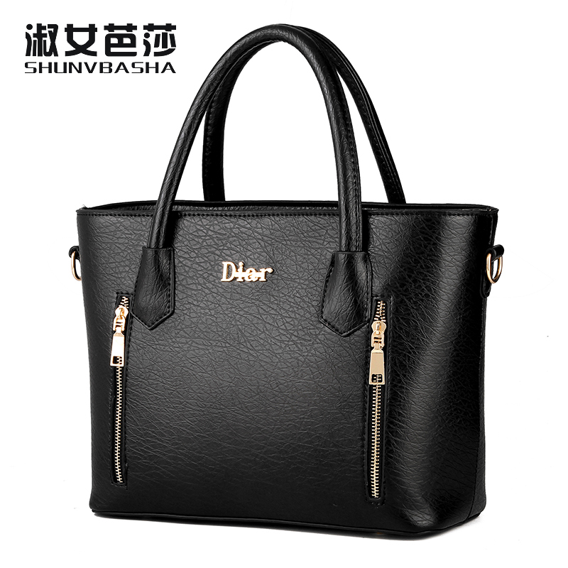 SNBS 100% Genuine leather Women handbags 2017 New female styling fashion Crossbo