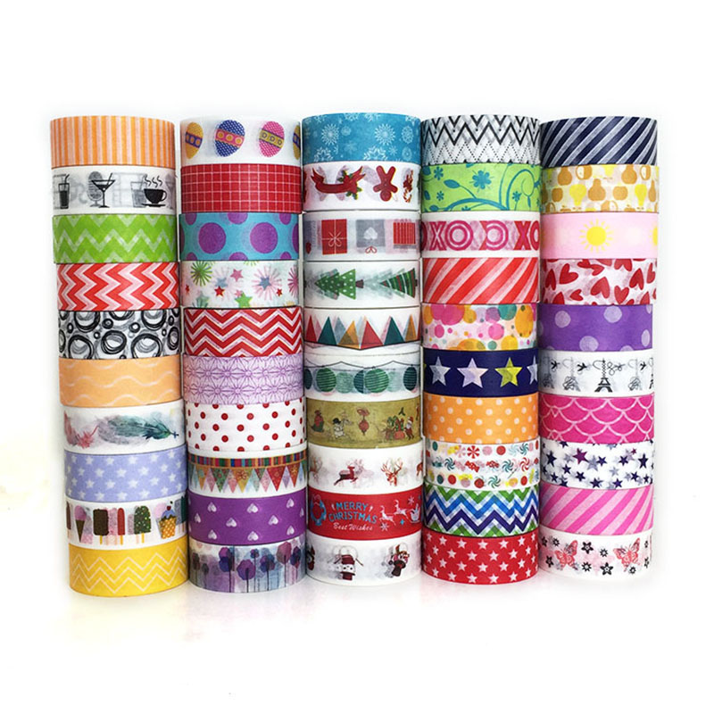 12 Rolls Christmas Washi Masking Tape Set,Gifts Wrapping and Present Scrapbooking Arts Crafts Office Party Supplies