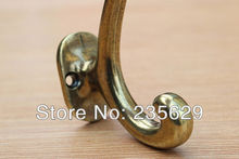 Free Shipping, copper alloy material clothes hook, Single Hooks types, Bathroom ,Kitchen and Wardrobe hook, anti-rust,fastness