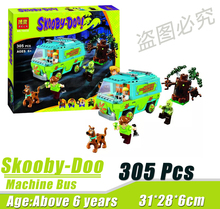 Bela 10430 Scooby Doo Mystery Machine Bus Minifigures Building Block Minifigure Toys Best Toys Compatible With Legoe