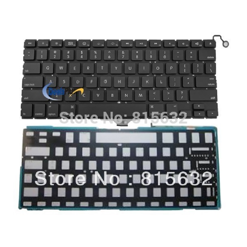 Brand New For Macbook Air A1237 A1304 US KEYBOARD With backlight аксессуар аккумулятор tempo a1245 7 4v 5200mah для apple macbook air 13 a1237 a1304 mb940lla