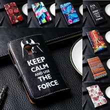 Flip PU Leather Phone Cover For Alcatel OneTouch Pixi 3/3.5 inch/5.0 inch/4009/5015 Cases With Magnetic Open Solid Phone Bags