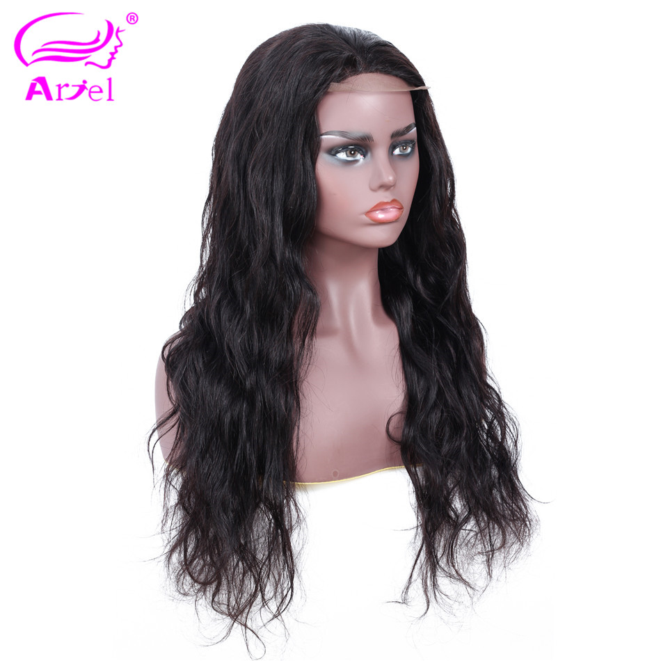 4 4 Closure Wig Lace Closure Wig Remy Body Wave Human Hair Wigs For Black Women