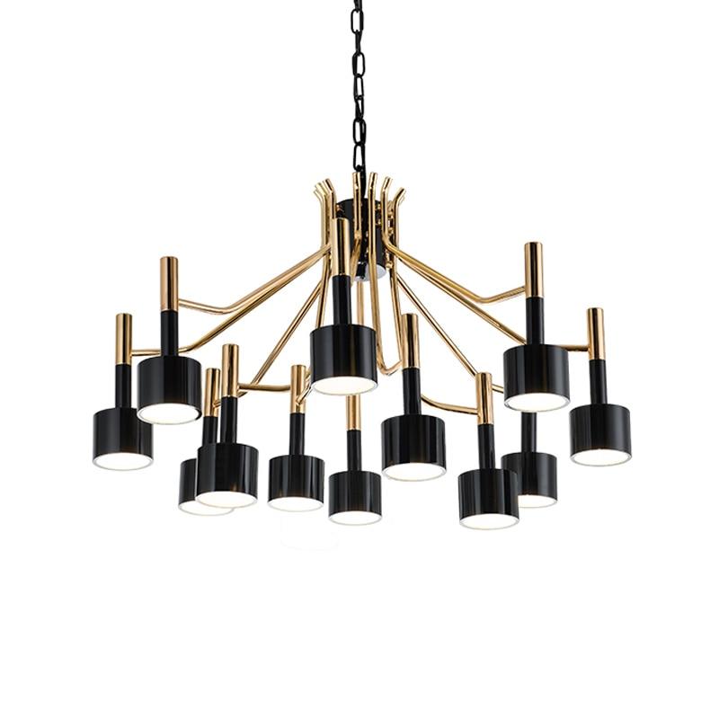 BDBQBL 12/15 Heads Iron Pendant Lights Nordic Simple AC 90 260V G4 Pendant Lamp Originality Personality Bedrooms Hanglamp