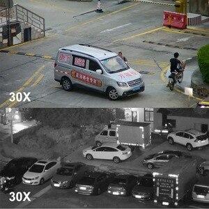 Image 5 - Yeni 4.5 inç HD 1080P 4MP 5MP PTZ IP kamera açık ağ Onvif Speed Dome 30X Zoom objektifi PTZ kamera CCTV 150m IR gece görüş
