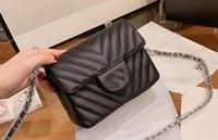 CC large capacity bag 2019 shoulder bag female leather Pu quilted bag female luxury handbag