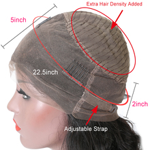 Brazilian Kinky Straight Wig 360 Lace Frontal Wig Pre Plucked With Baby Hair Lace Front Human Hair Wigs For Black Women