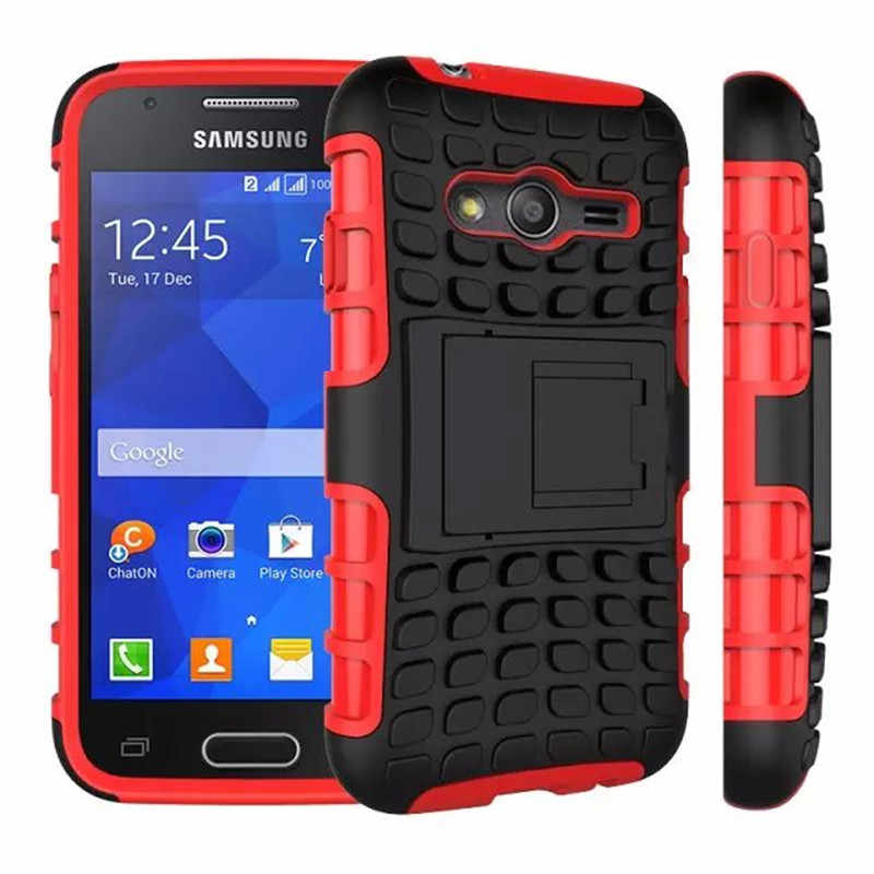 07d58334670 For Samsung Galaxy Ace 4 G313 G313H Neo Duos G318H Heavy Duty Shockproof  Armor Case Hybrid