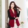 Пальто для женщин весной и осенью шерстяные верхняя одежда молодая девушка короткие дизайн траншеи пальто 5131 плюс размер m-4xl