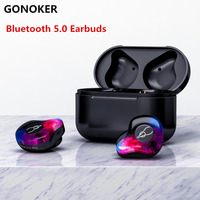X12 Pro True Wireless Headphone Earbud Bluetooth 5.0 Wireless Sport Headset with Magnetic Charging Case Built in Mic tws i7s F10