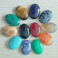12pcs/lot Wholesale 18x25mm natural stone mixed Oval CAB CABOCHON turquoise/Sodalite/black onyx/Tiger eye stone teardrop beads