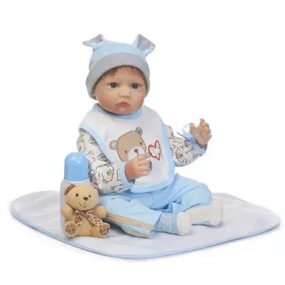 2255cm Baby Doll Bonecas Bebe Reborn Silicone Gilr Soft Body Lifelike Simulation Sleeping Dolls Toy Brinquedo кукла luxury china brand 2015 18 bonecas bebe brinquedo reborn baby doll 012